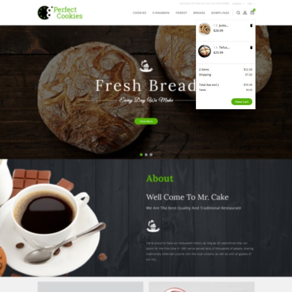 theme - Alimentation & Restauration - Cookies Store - 11