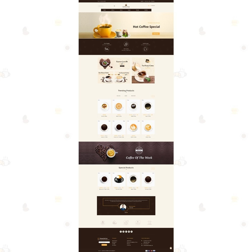 theme - Food & Restaurant - Coffee Shop - 2