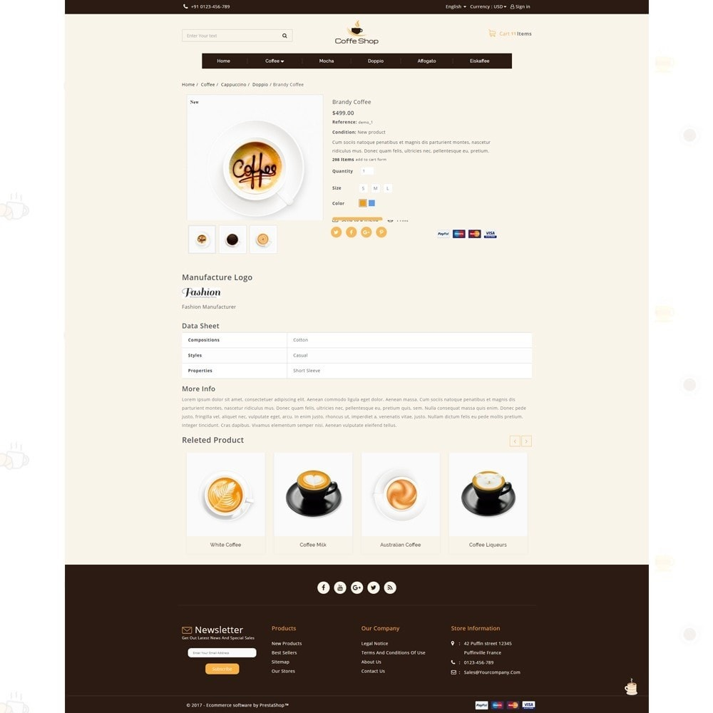 theme - Food & Restaurant - Coffee Shop - 4