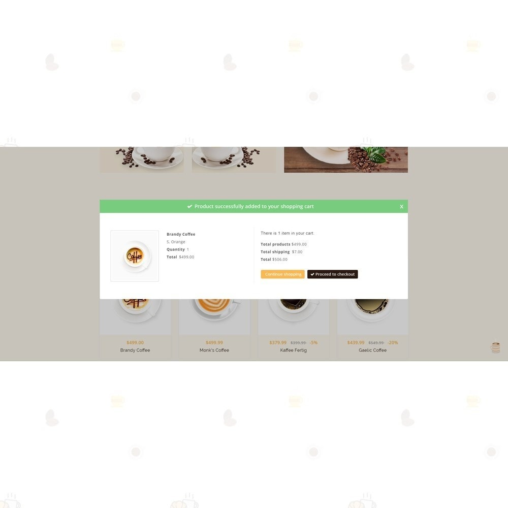 theme - Food & Restaurant - Coffee Shop - 6