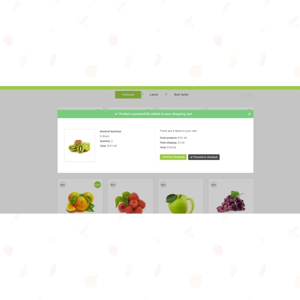 theme - Продовольствие и рестораны - Organic Food Store - 6