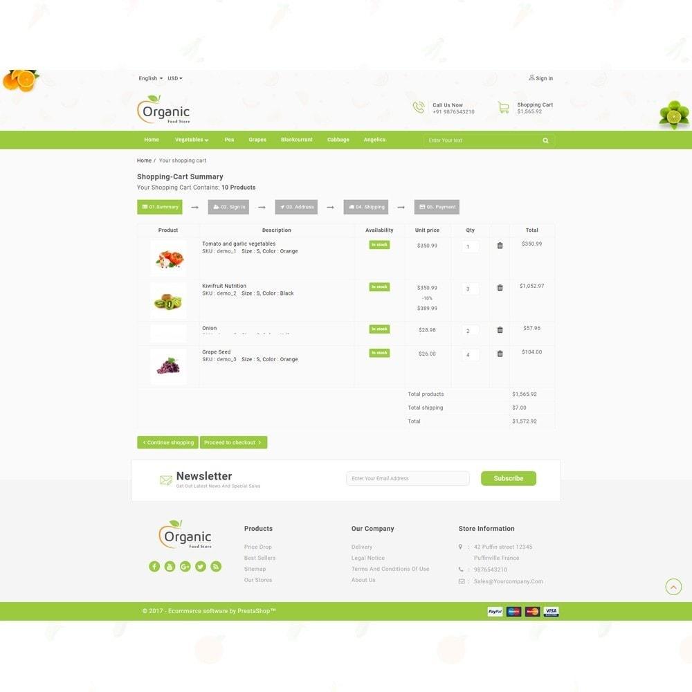 theme - Продовольствие и рестораны - Organic Food Store - 7