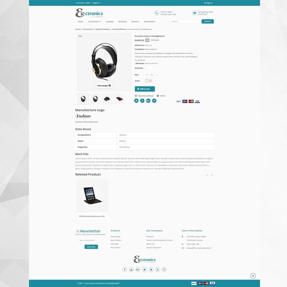 theme - Elettronica & High Tech - Electronic Store - 4