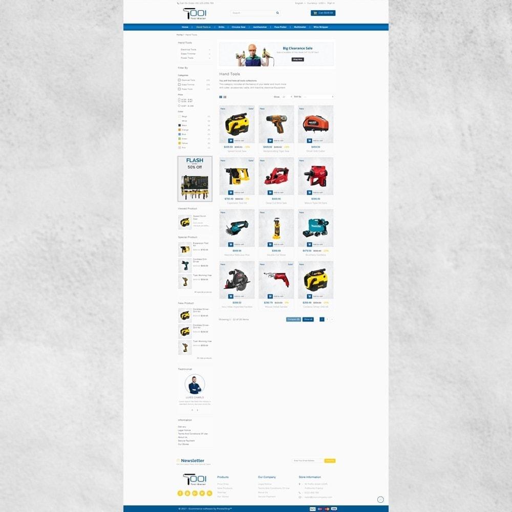 theme - Авто и Мото - Tools Shop - 3