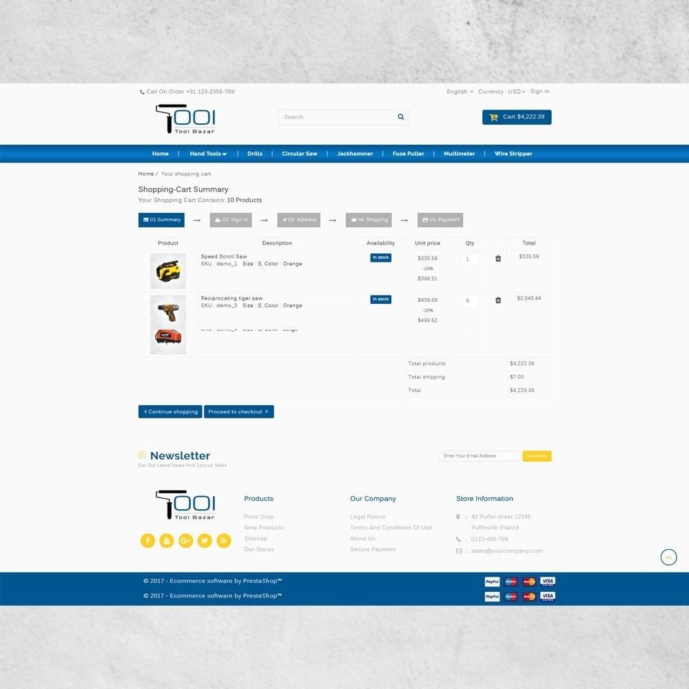 theme - Авто и Мото - Tools Shop - 7