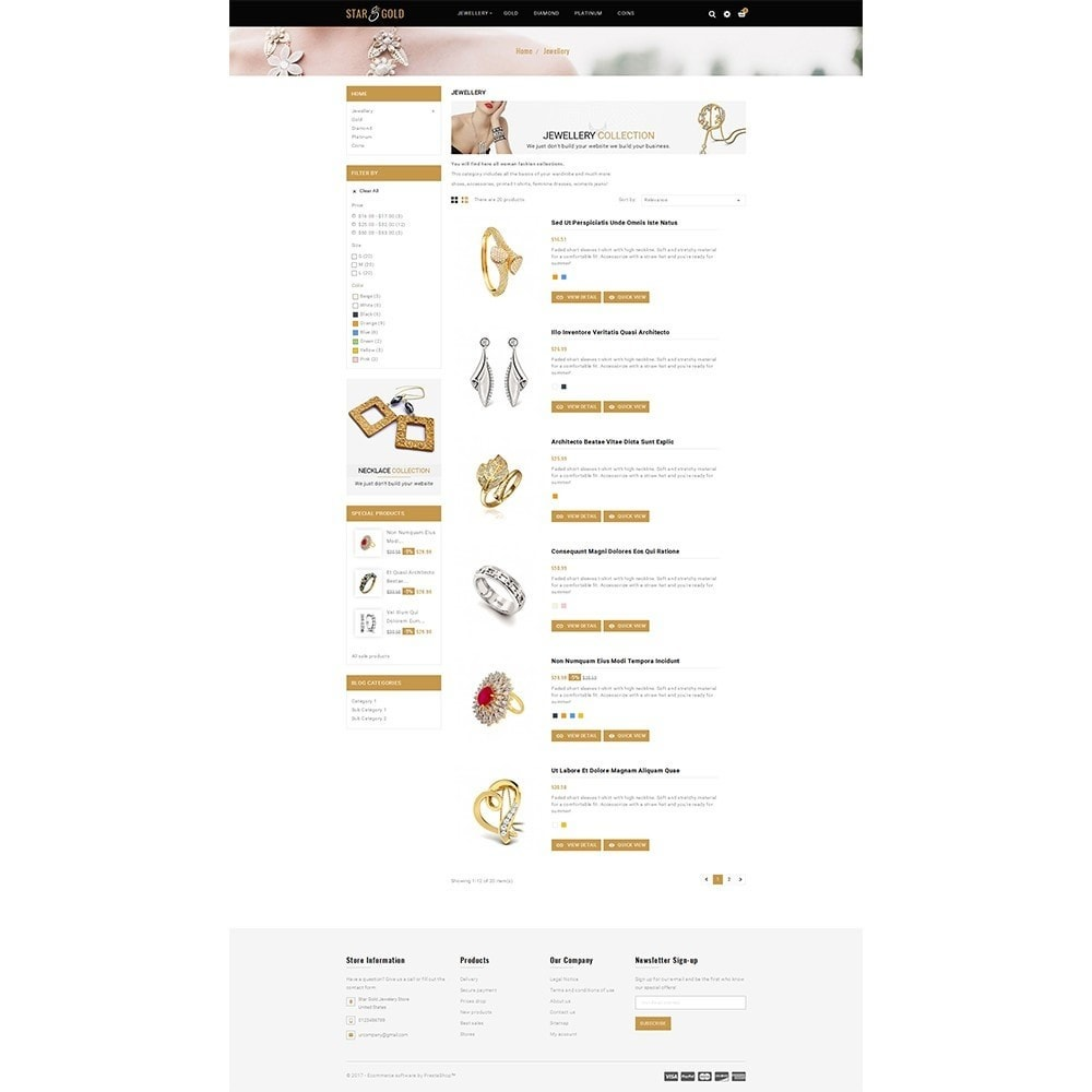 theme - Schmuck & Accesoires - Star Gold Jewellery Store - 4