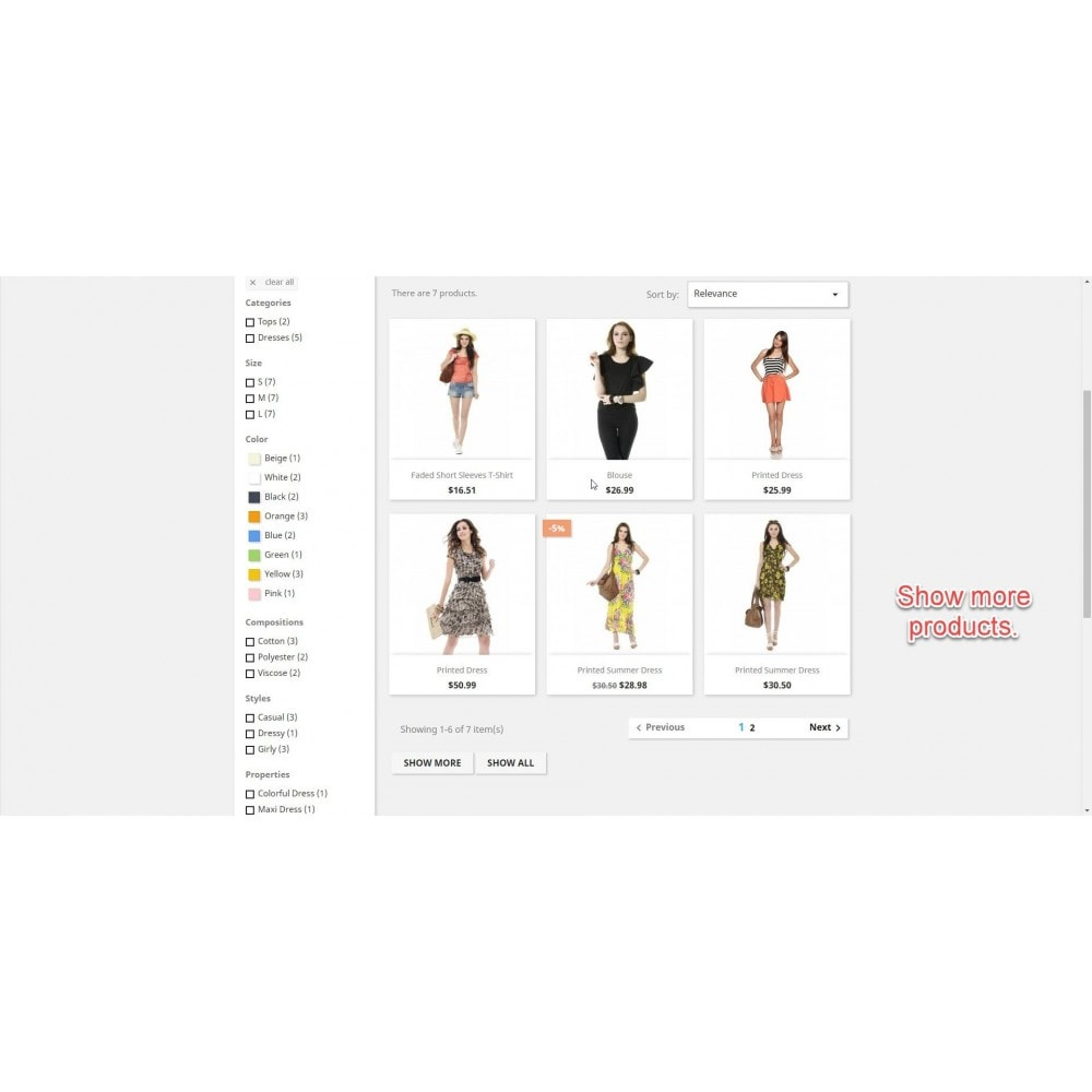 module - Tool di navigazione - Mostra tutti i prodotti - 3