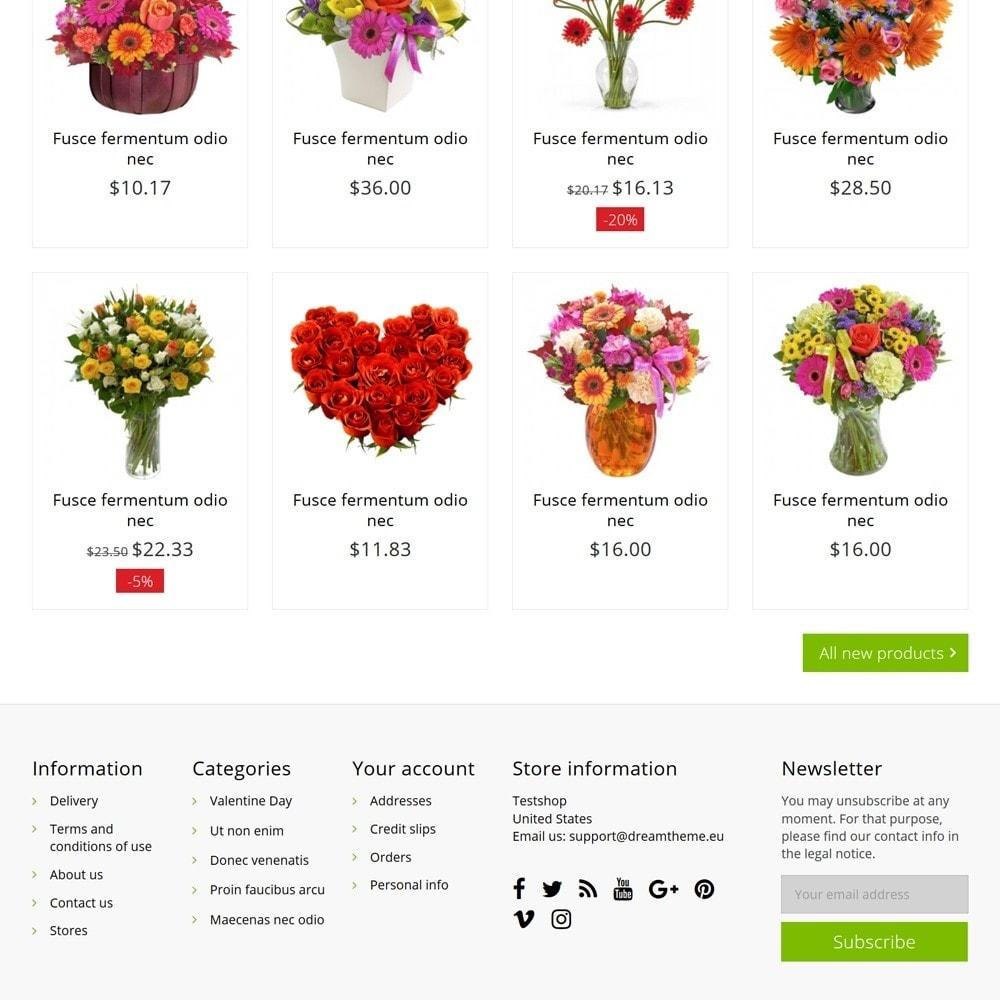 theme - Cadeaus, Bloemen & Gelegenheden - FlowerShop - 5