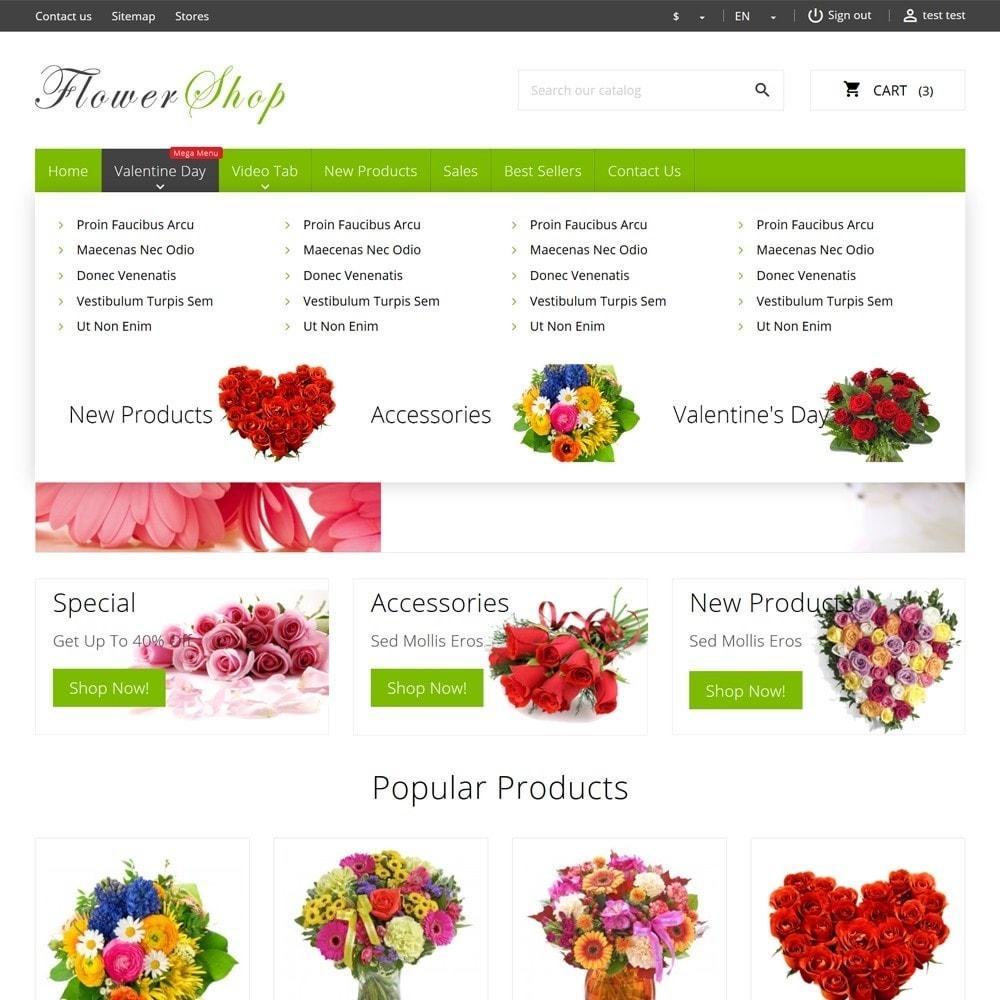 theme - Cadeaus, Bloemen & Gelegenheden - FlowerShop - 6