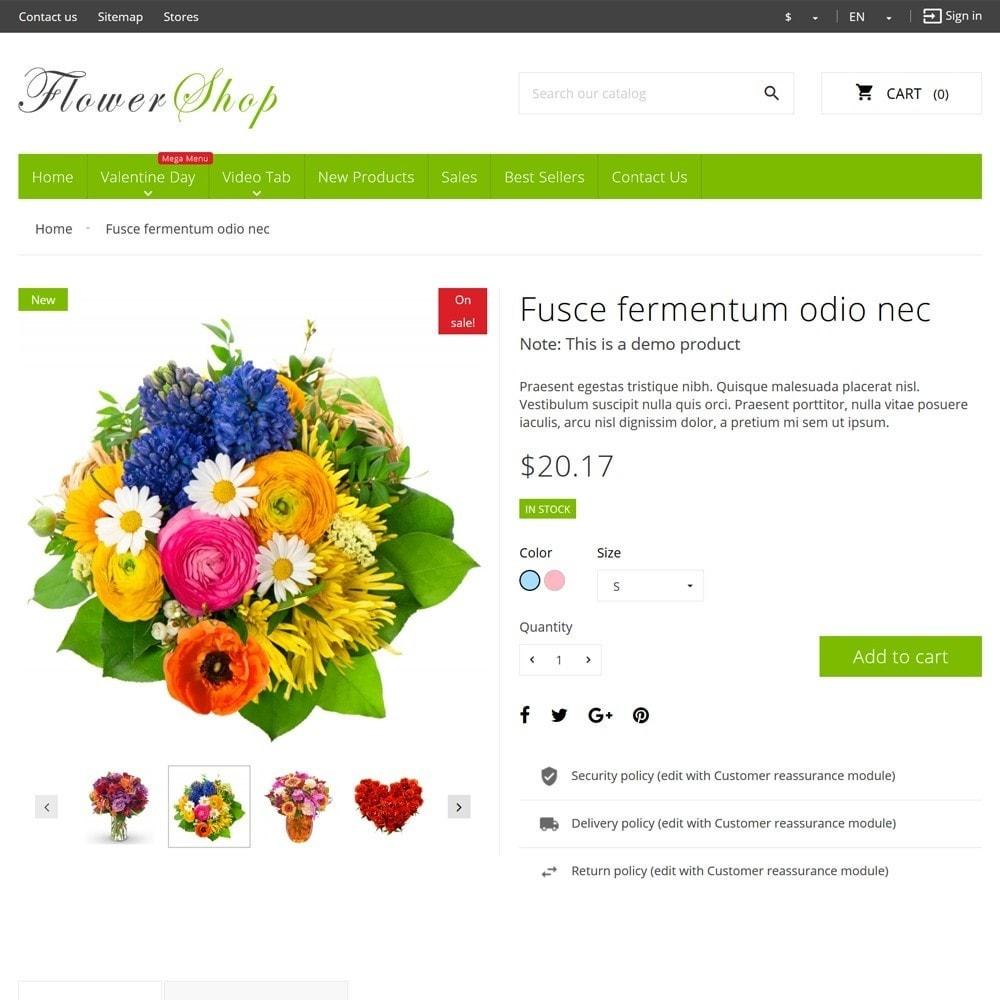 theme - Prezenty, Kwiaty & Uroczystości - FlowerShop - 8