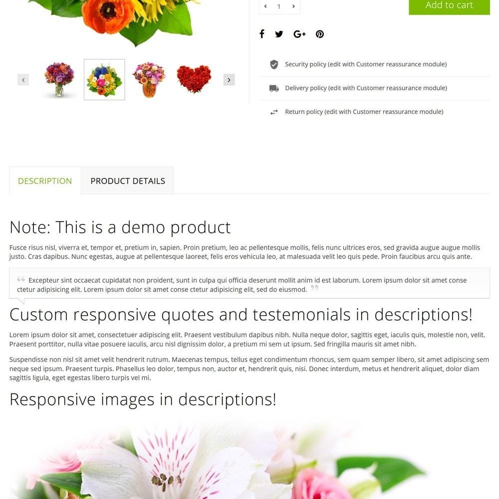 theme - Cadeaus, Bloemen & Gelegenheden - FlowerShop - 9