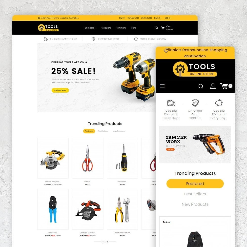 theme - Dom & Ogród - Tools Store - 1