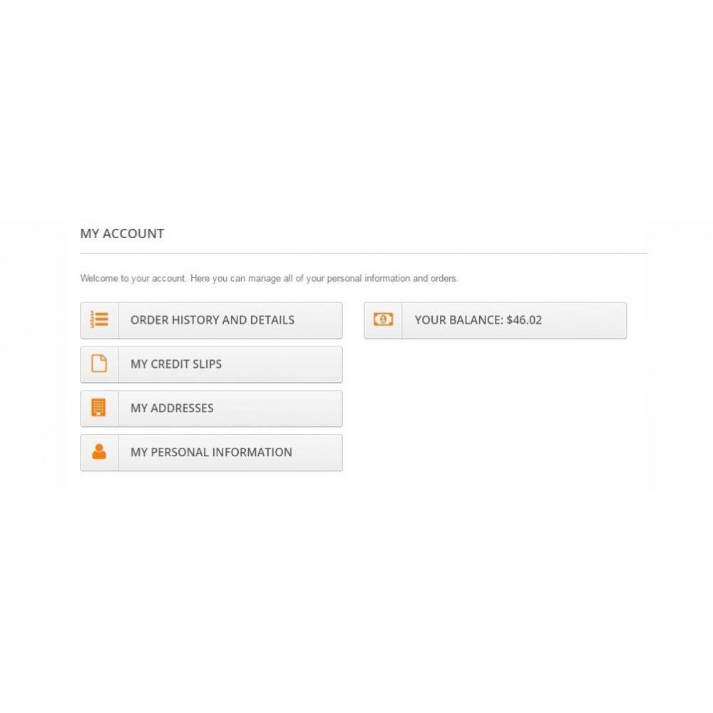 module - Płatność kartą lub Płatność Wallet - User internal balance UserBalance - 7