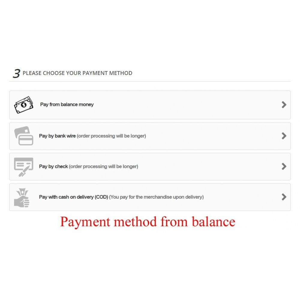 module - Payment by Card or Wallet - User internal balance UserBalance - 11