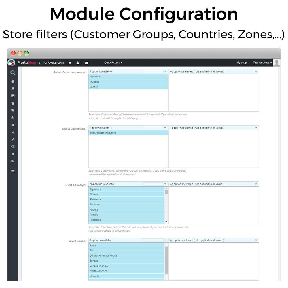 module - Registration & Ordering Process - Minimum, maximum, multiple units and total cart limits - 6