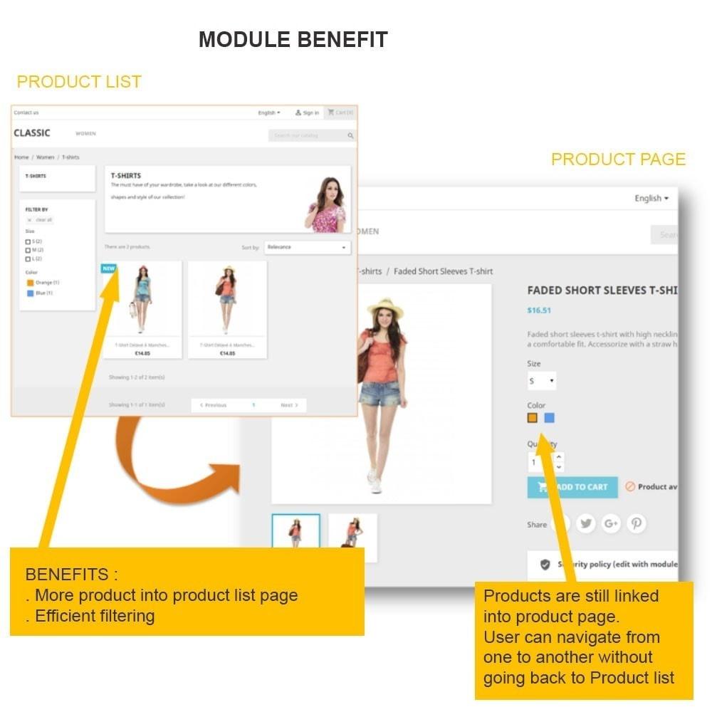 module - Deklinacje & Personalizacja produktów - SUPERMODEL: Products grouping on product sheet - 2