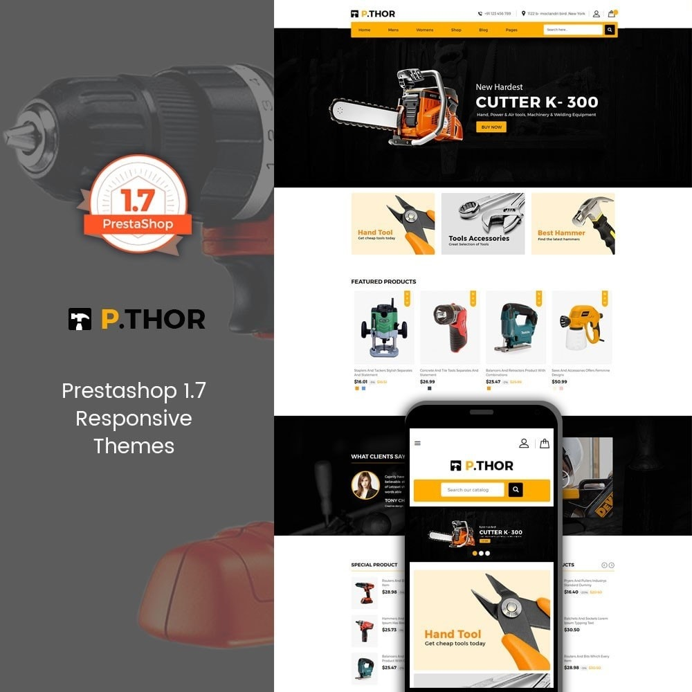 theme - Coches y Motos - Thor Tools Store - 1