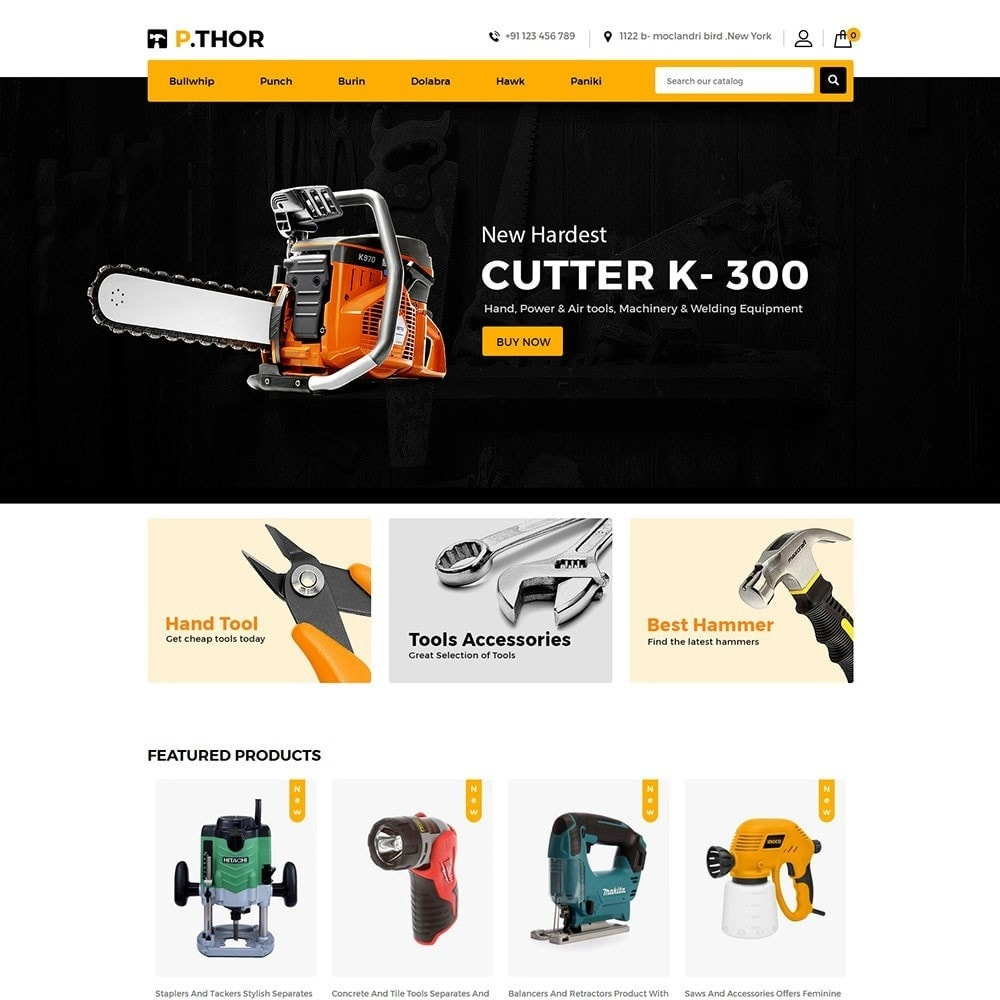 theme - Coches y Motos - Thor Tools Store - 2