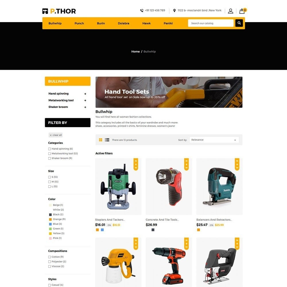 theme - Coches y Motos - Thor Tools Store - 3