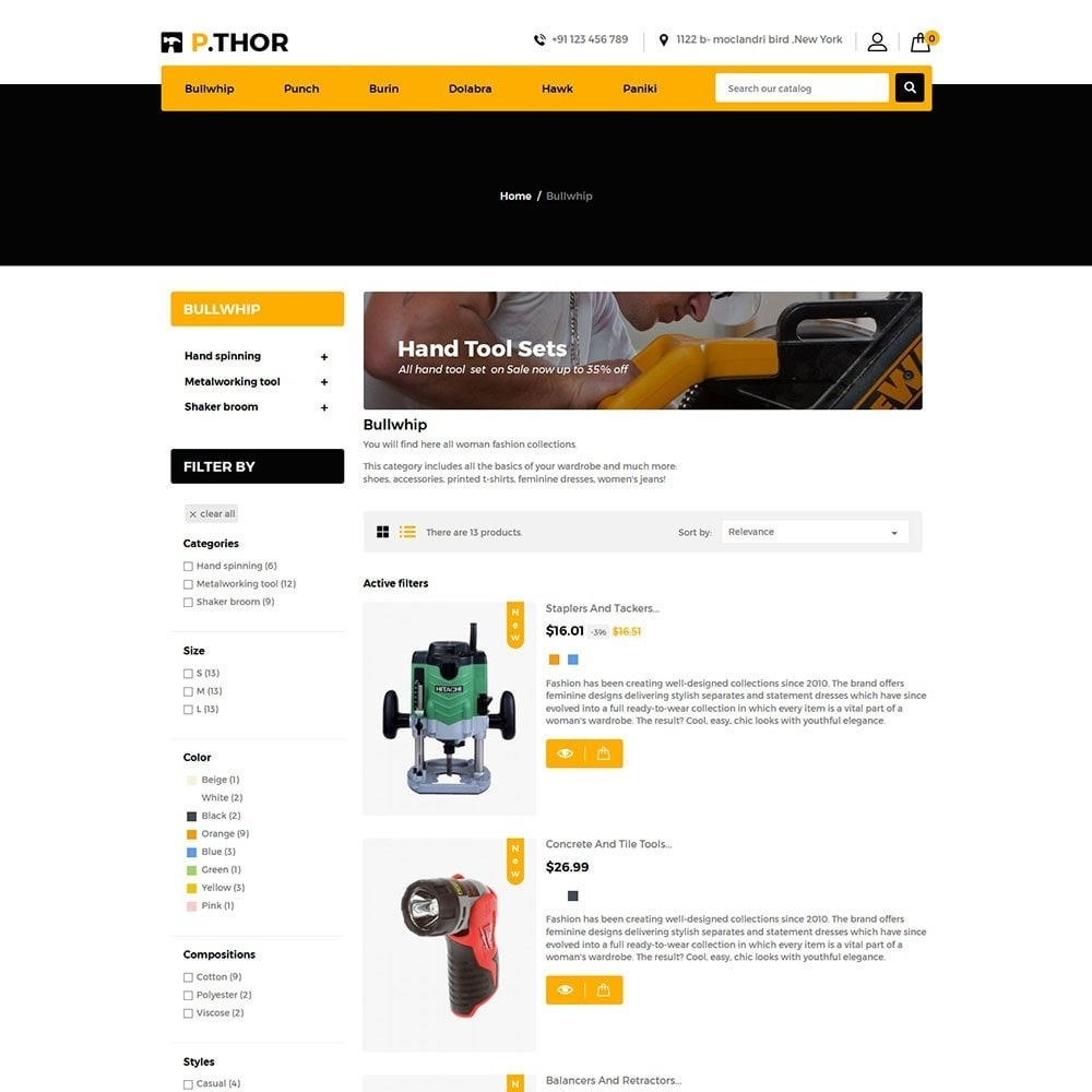 theme - Coches y Motos - Thor Tools Store - 4