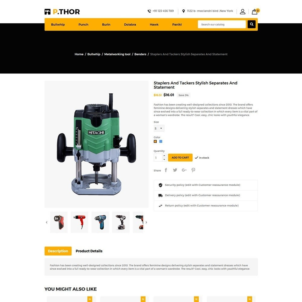 theme - Coches y Motos - Thor Tools Store - 5