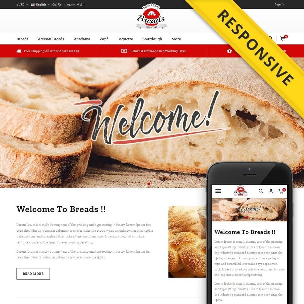 theme - Gastronomía y Restauración - Fresh Bakery store - 1