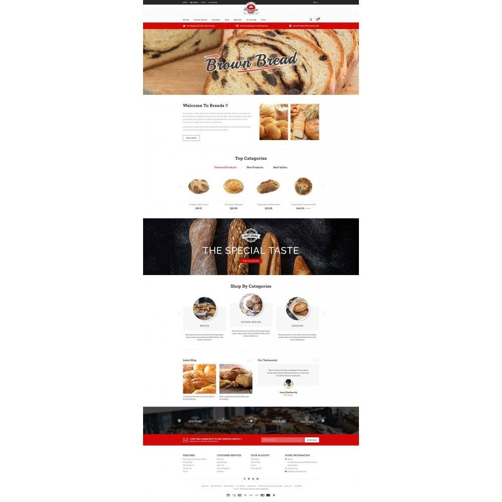 theme - Gastronomía y Restauración - Fresh Bakery store - 2