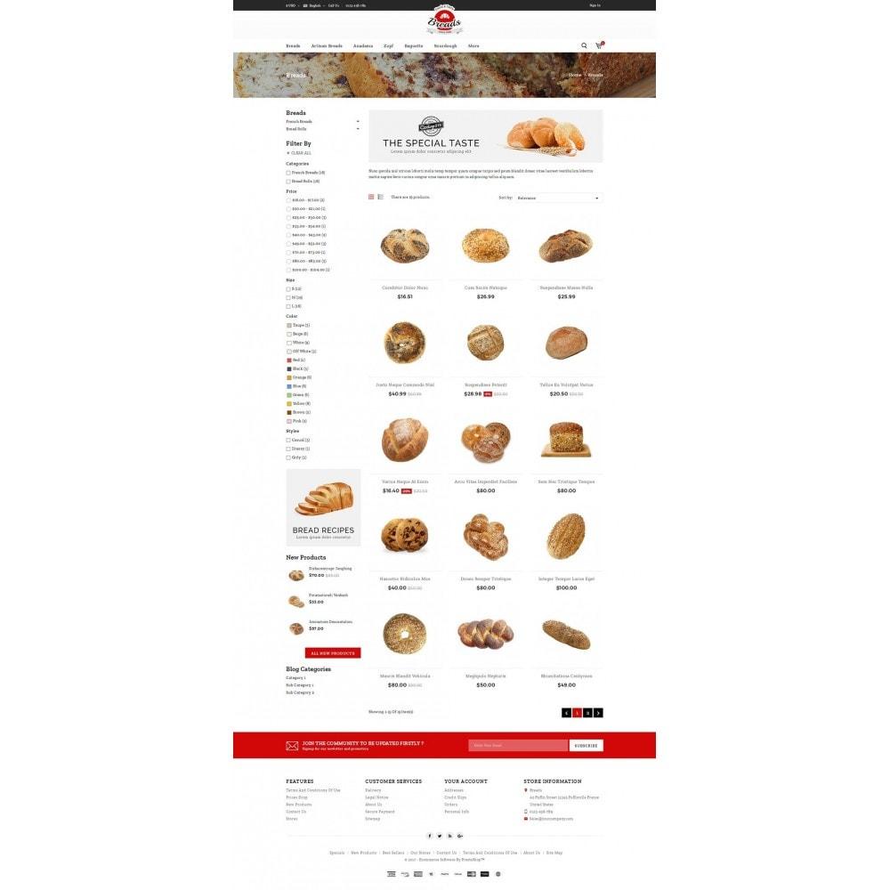 theme - Gastronomía y Restauración - Fresh Bakery store - 3