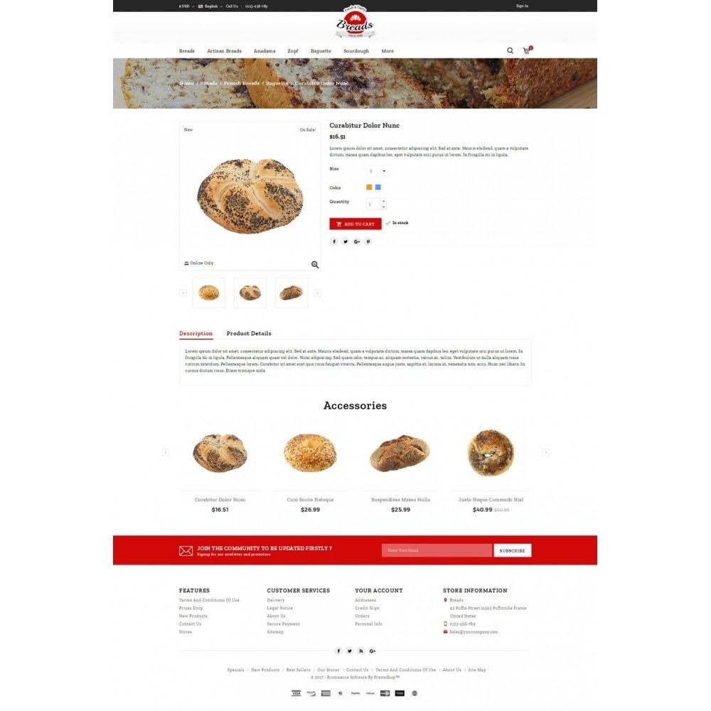 theme - Gastronomía y Restauración - Fresh Bakery store - 4