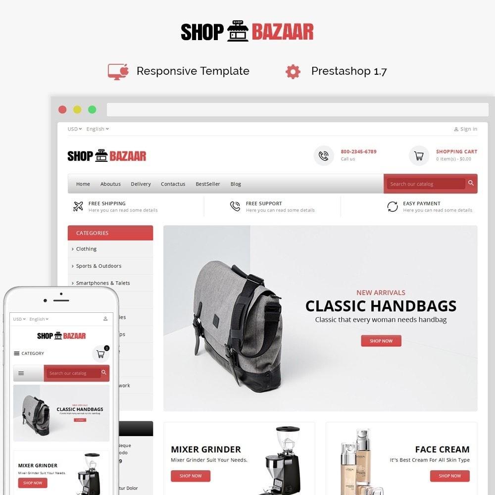 theme - Electronique & High Tech - ShopBazar Mega Store - 1