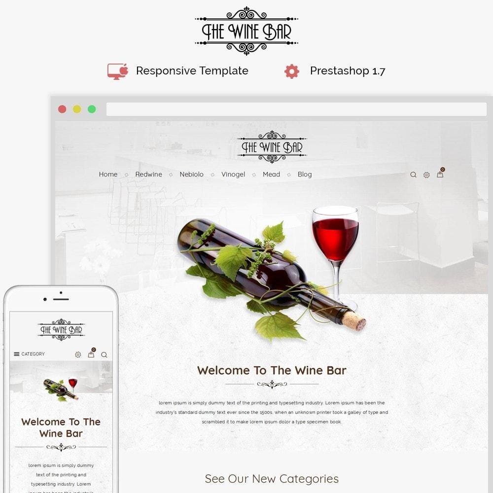 theme - Drank & Tabak - Winebar WIne Store - 1