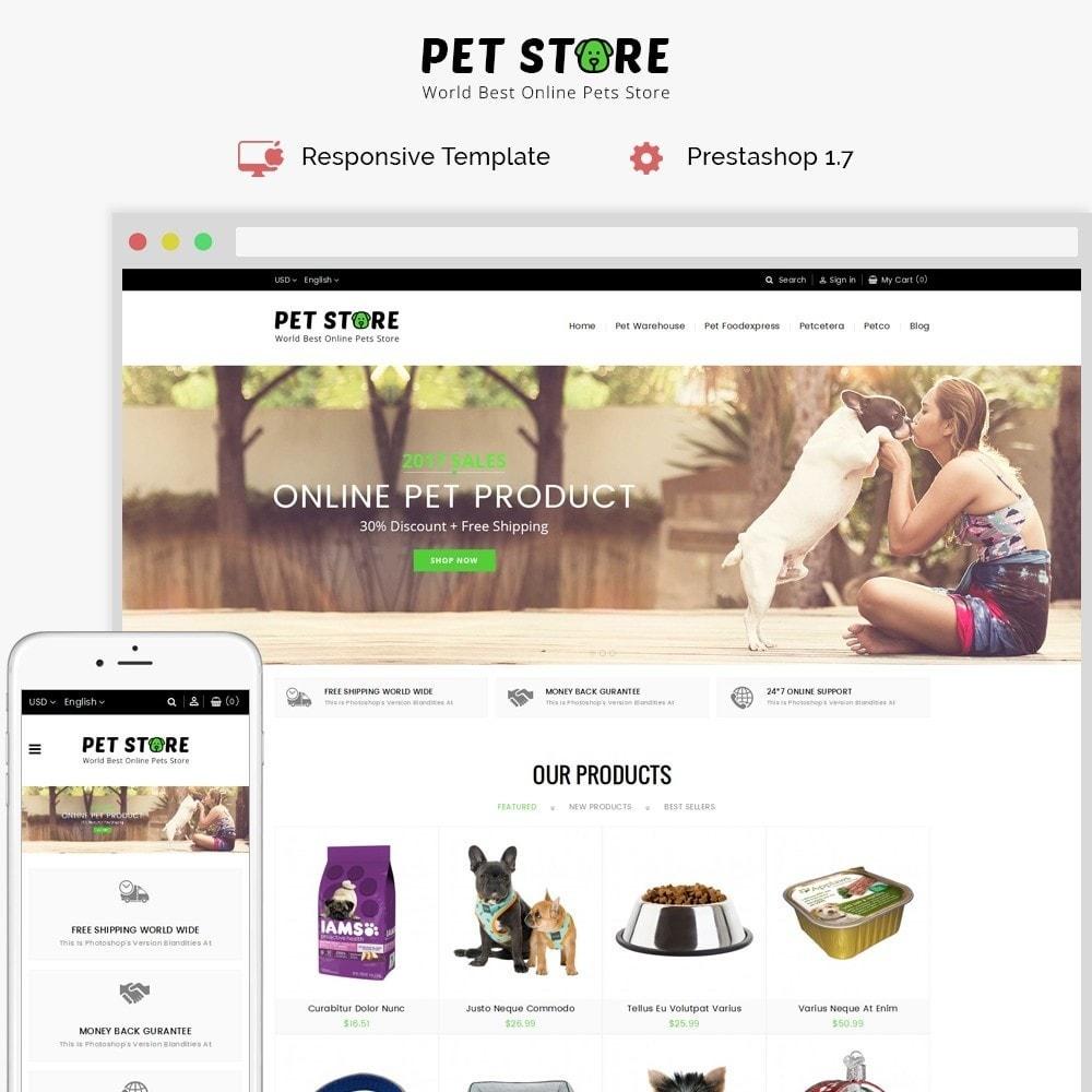 theme - Animales y Mascotas - Pet Store - 1