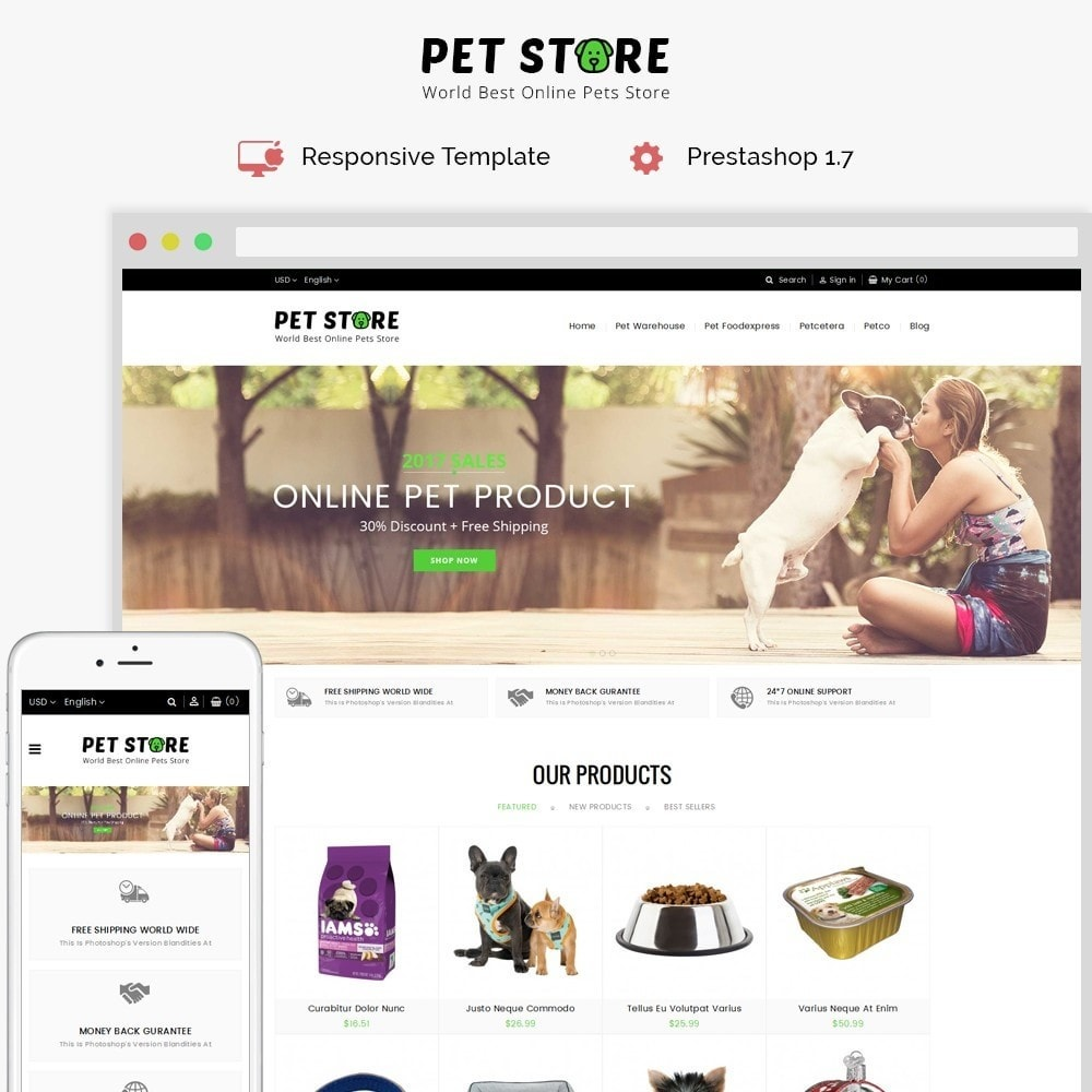 theme - Animaux - Pet Store - 1
