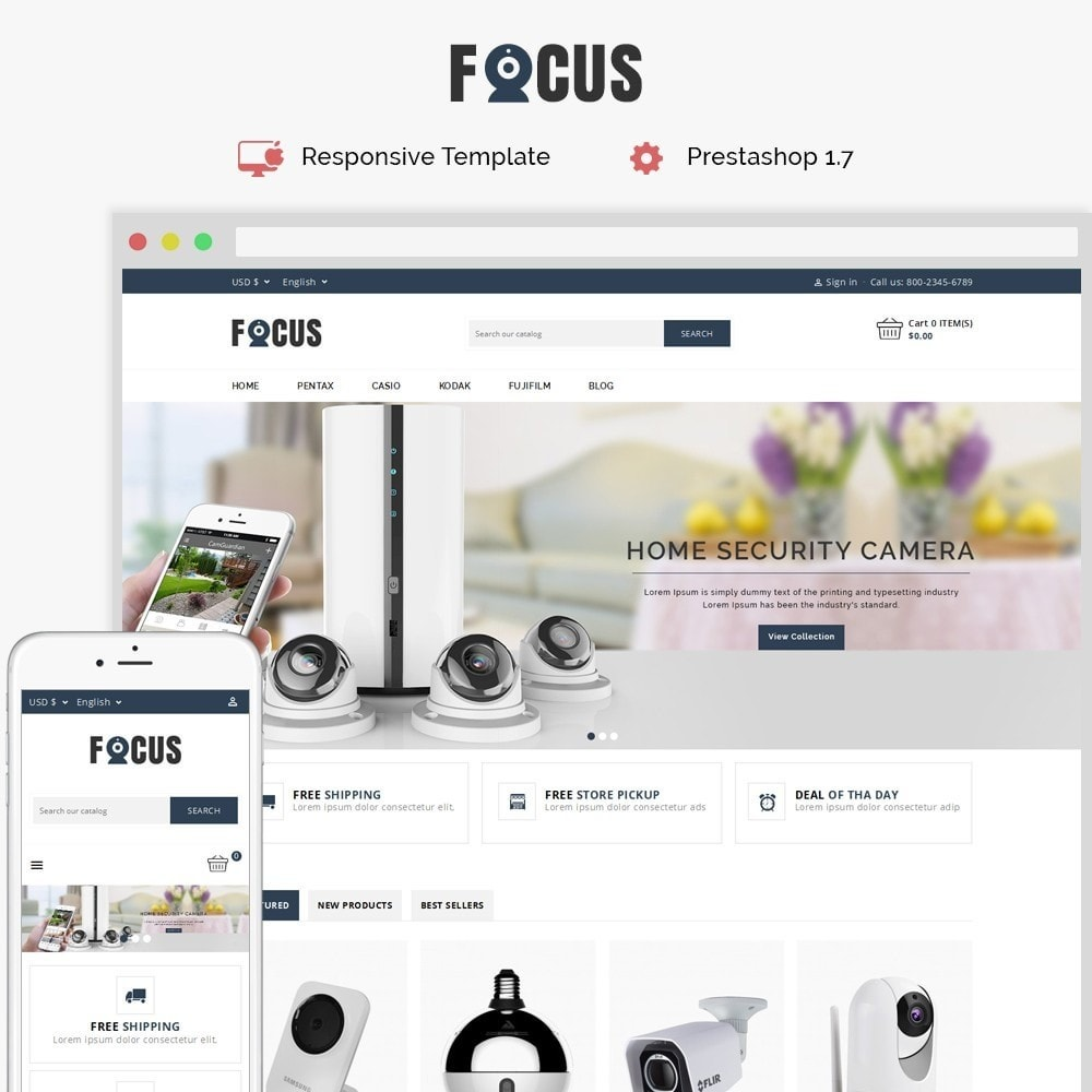 theme - Elektronik & High Tech - Focus -The Camera Shop - 1