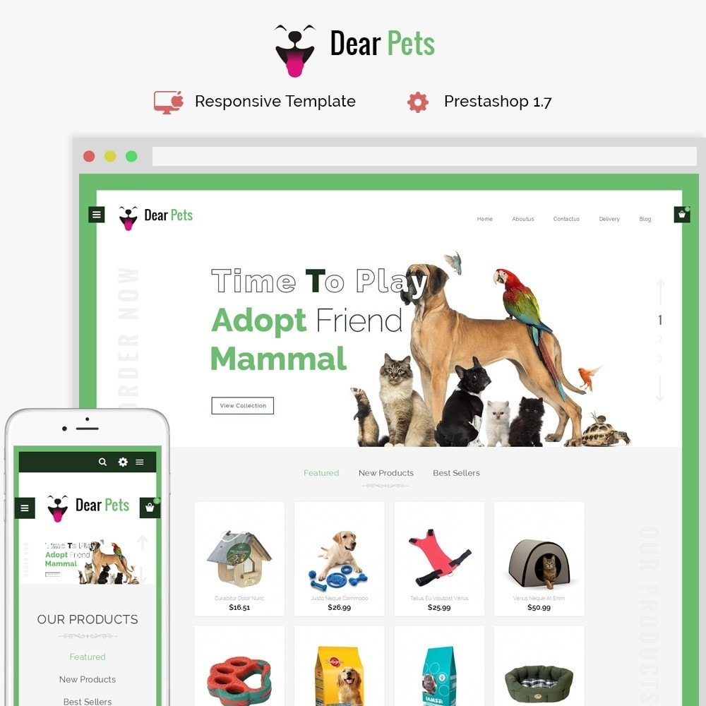 theme - Tier - Dearpets Pet Store - 1