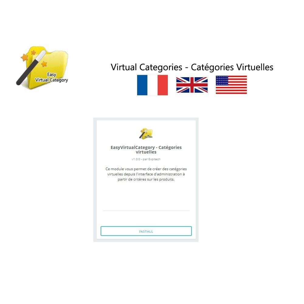 module - Edition rapide & Edition de masse - Catégories virtuelles - 1