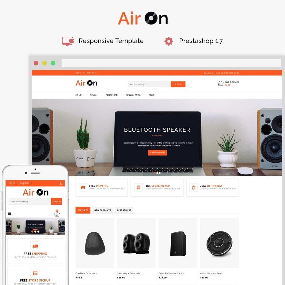 theme - Electrónica e High Tech - Airon Speakers Store - 1
