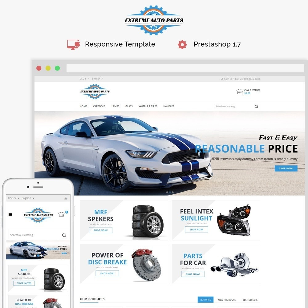 theme - Coches y Motos - Extreme Autoparts store - 1