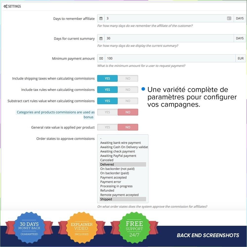 module - Référencement payant (SEA SEM) & Affiliation - Full Affiliés - 12