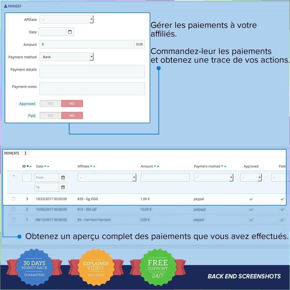 module - Référencement payant (SEA SEM) & Affiliation - Full Affiliés PRO - 15