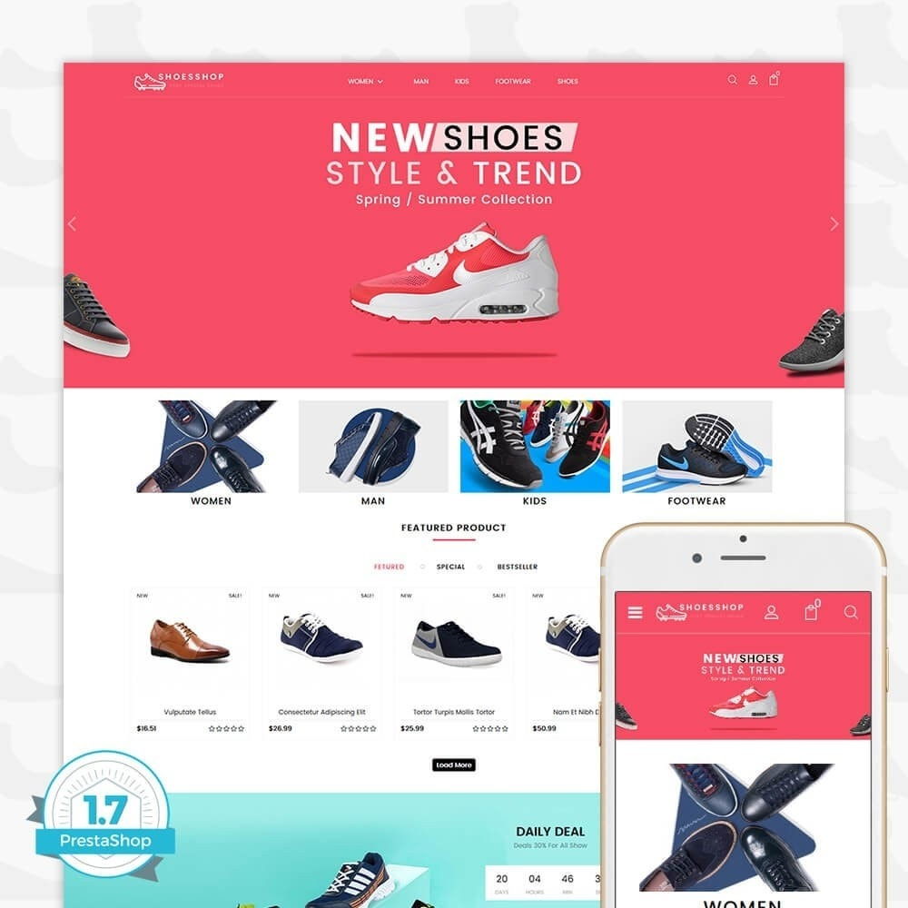 theme - Sport, Attività & Viaggi - Shoes Shop - Special Shoes Shop - 1