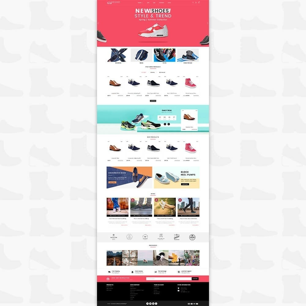 theme - Sport, Attività & Viaggi - Shoes Shop - Special Shoes Shop - 2