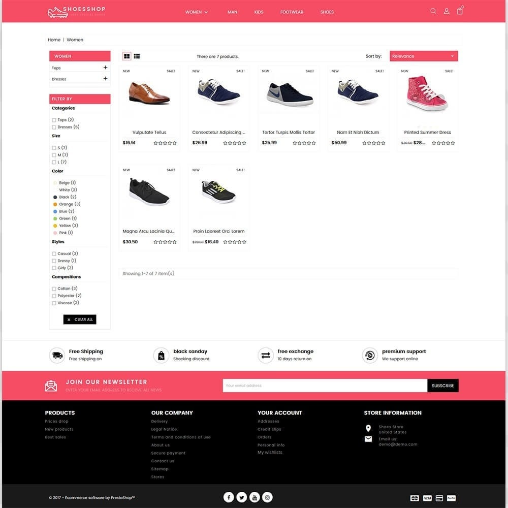 theme - Sport, Attività & Viaggi - Shoes Shop - Special Shoes Shop - 3