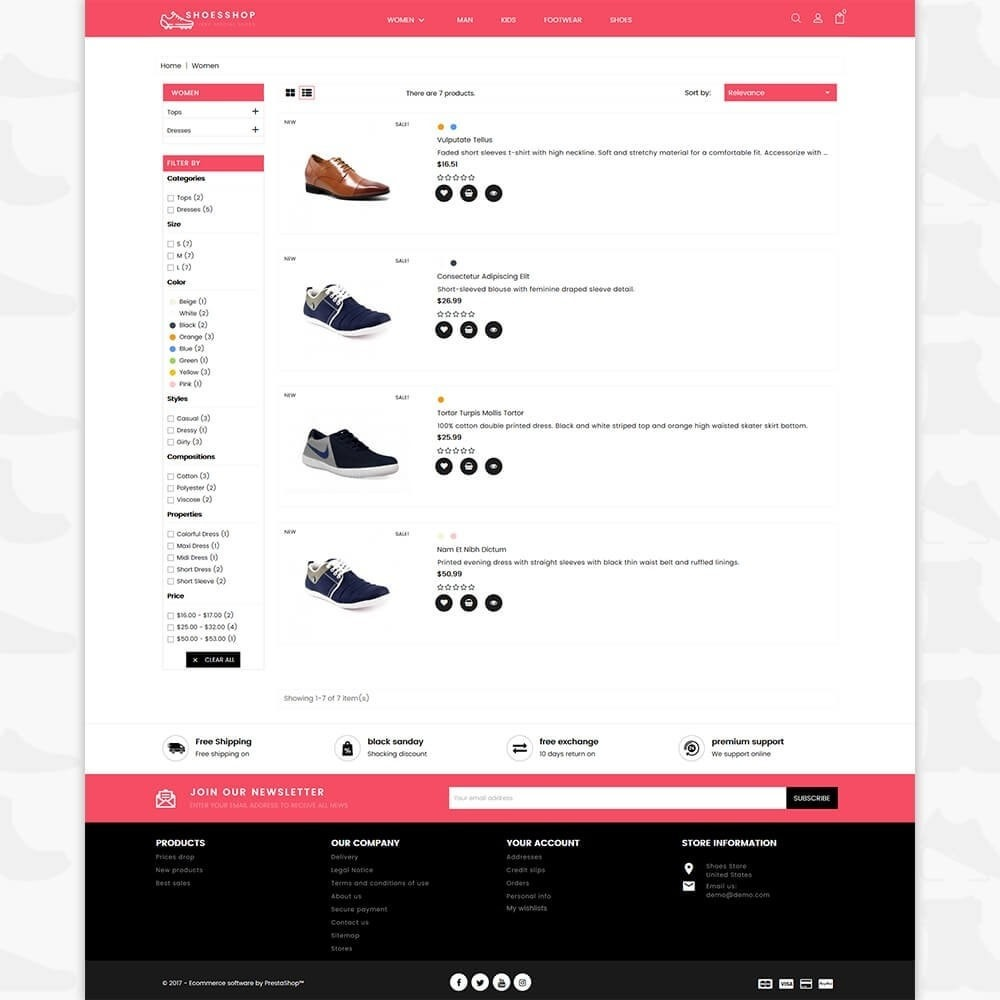 theme - Sport, Attività & Viaggi - Shoes Shop - Special Shoes Shop - 4