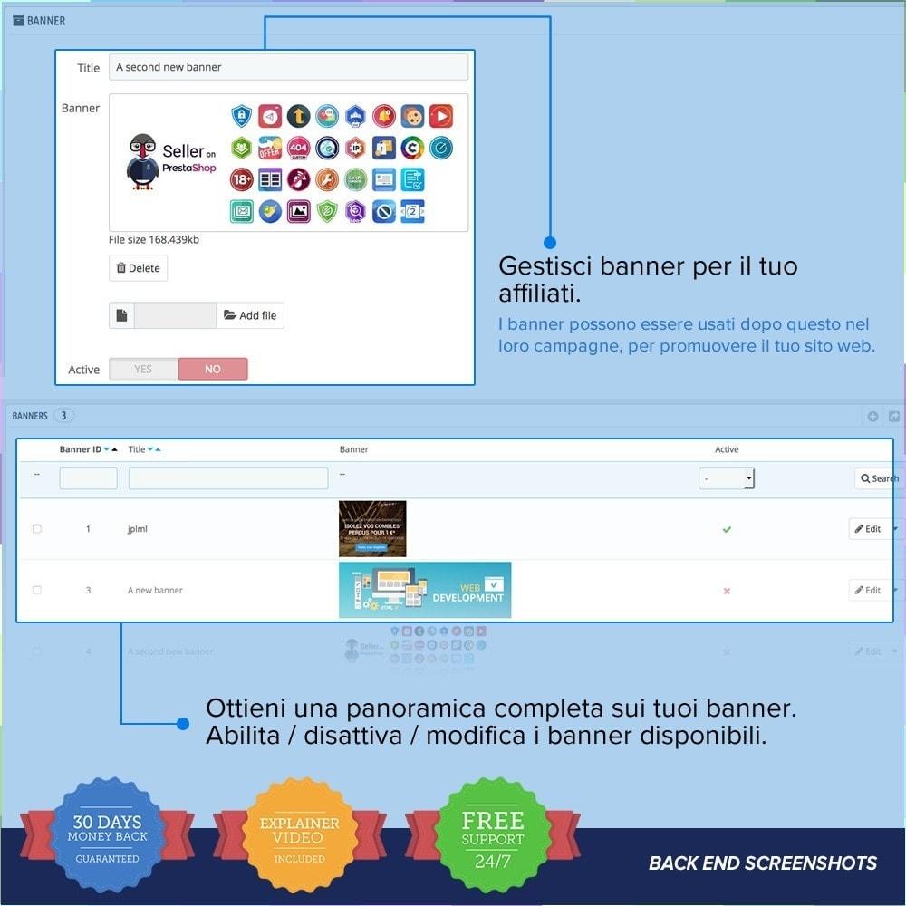 module - Indicizzazione a pagamento (SEA SEM) & Affiliazione - Full Affiliato PRO - 17