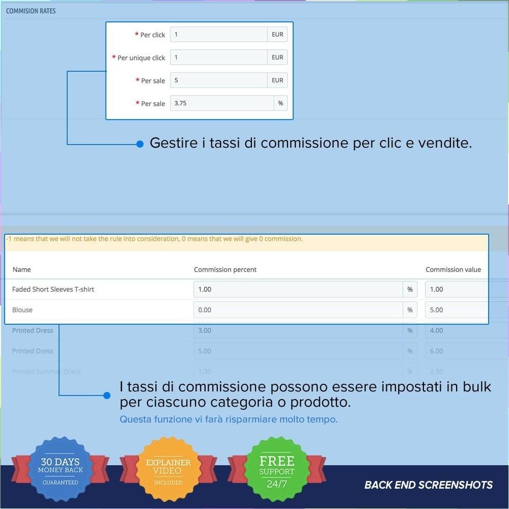 module - Indicizzazione a pagamento (SEA SEM) & Affiliazione - Full Affiliato PRO - 19