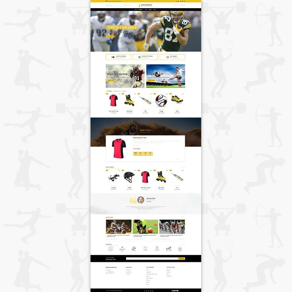 theme - Sports, Activities & Travel - Sport Market - 2