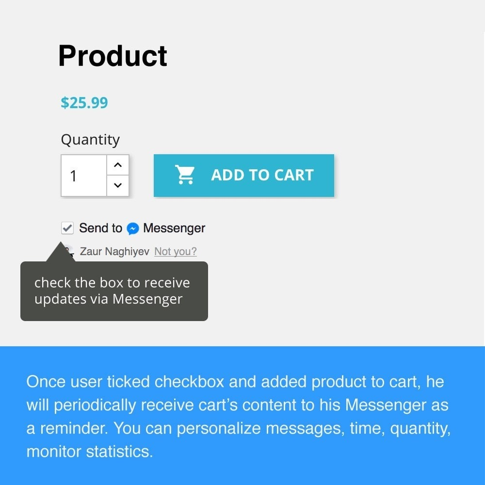 module - Remarketing & Compras abandonados - Abandoned Cart Reminder  & Messenger Chat Bot - 2