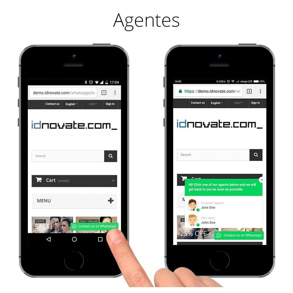 module - Asistencia & Chat online - WhatsApp - Chat con clientes - WhatsApp para Negocios - 6