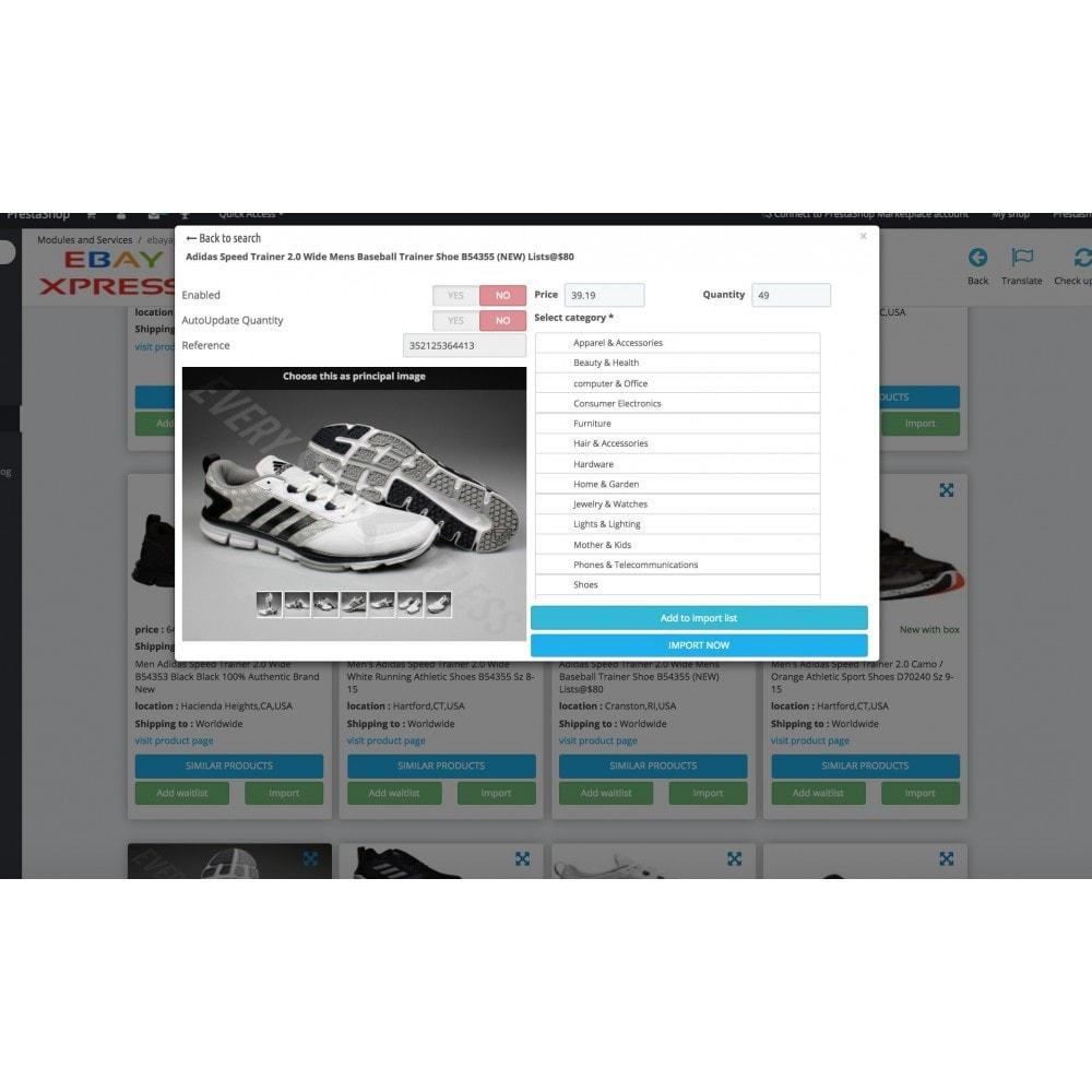 module - Import & Export de données - EbayXpress Importer - 3